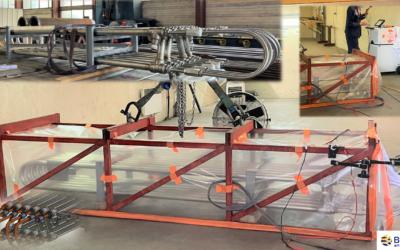 Brown Fintube France SA étend encore sa maîtrise des contrôles CND en s'équipant et se qualifiant pour la réalisation de tests d'étanchéité Hélium pour le marché des échangeurs de chaleur à hydrogène.