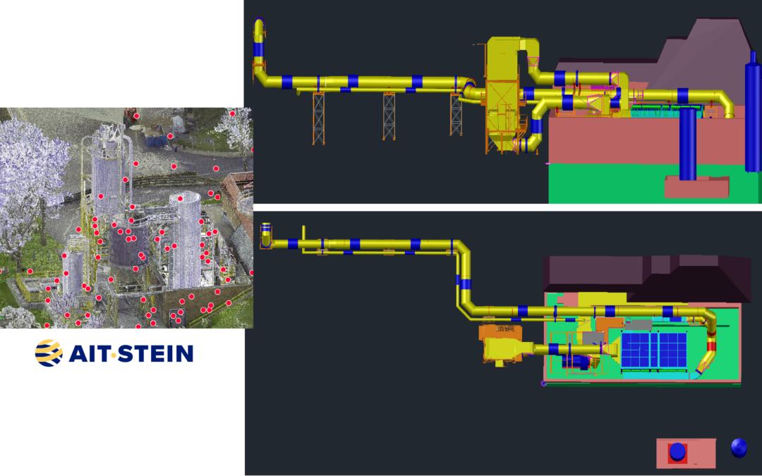Notre filiale Air Industrie Thermique (AIT) mandatée par ENGIE Solutions, pour la remise en conformité du traitement des fumées de sa centrale de chauffage urbaine de la ville de Reims (France).